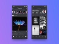 Instagram Dark Mode Concept