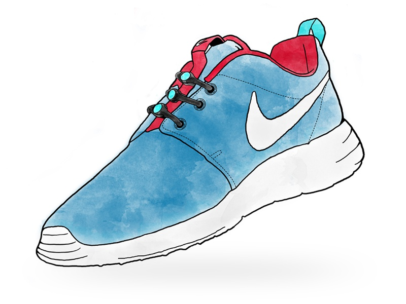 Painting Running Shoes