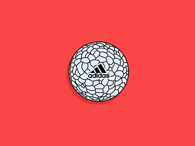 Boost Ball boost ball vector drawing infinergy boost adidas illustration