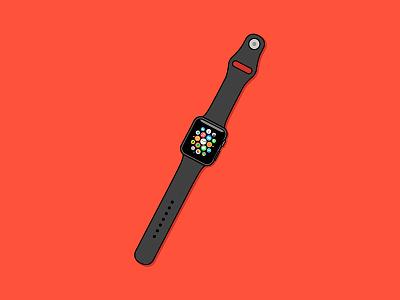 Apple Watch apple watch ios icons vector illustration watch apple