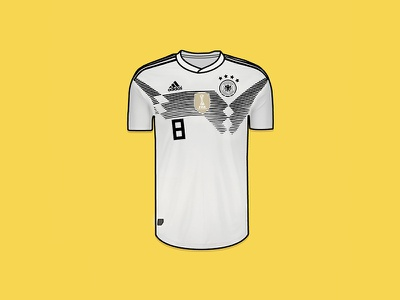 Germany World Cup Jersey toni kroos world cup eight 8 kroos jersey fifa germany vector drawing illustration