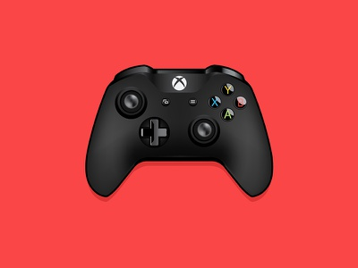 Xbox One Controller video games xbox one controller xbox vector drawing illustration