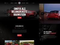 Homepage Alfa Romeo Giulia