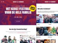Homepage christmas festival