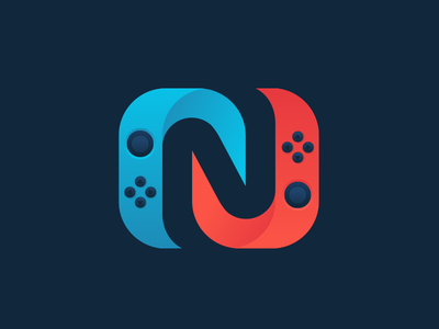 Nintendo Enthusiast esportlogo blog gaming geometic minimal simple clean modern nintendo enthusiast enthusiast nintendo nintendo switch icon logo