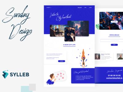 Citravel concept - Sunday Design design ux website webdesign web web design