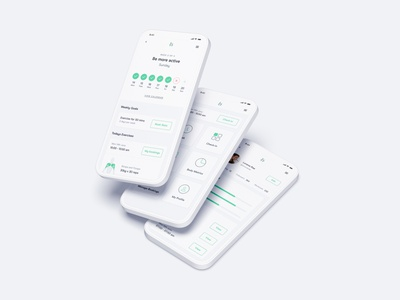 Health and Fitness App fitness health app product design ux ui