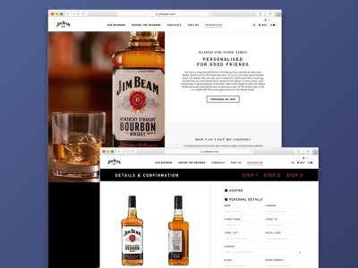 portada JB label jpg personalised label label configurator adaptive ux ui design web
