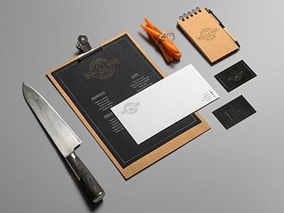 Chez Élise minimalism minimal restaurant branding