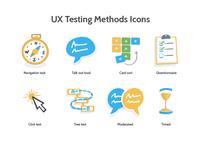 UX Testing Method Icons