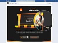 Orange Facebook app
