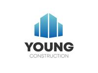 Young Construction : Logo Design