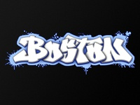 Boston : Graffiti Piece