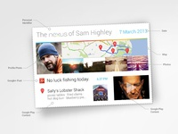 Google : NOW Postcard Concept