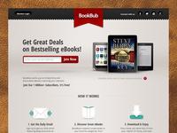 Book Bub : Homepage Concept