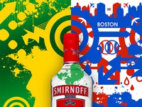 Smirnoff : Concept Art art direction graphic design illustration branding packaging concept art poster smirnoff