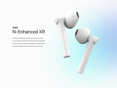 Earbeats Online Store logitech sennheiser akg after effects minimalism wireless design colorful gradient white ui design ux design motion design online store animation webdesign ui ux earphones earbuds