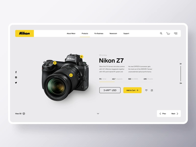 Nikon Shop Concept