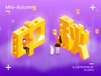 The Mid-Autumn Festival illustration