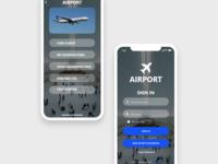 Airport App UI