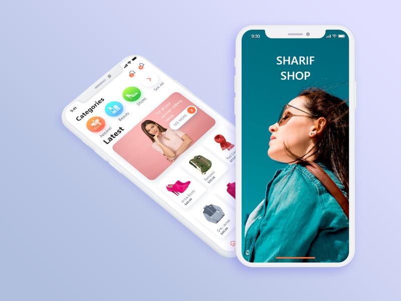 E-commerce App mobile design appkit ecommerce app mobile app design iphonex free app design app user experience design web design psd ux ui user interface ui  ux design