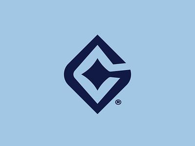 Star G mark symbol brand identity design logodesign logo