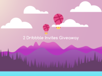 Dribbble Invites Giveway 🤙🏻