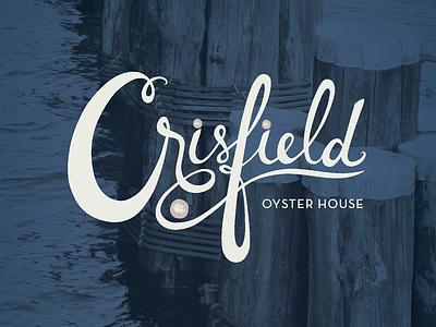 Crisfield Logo logo restaurant oyster class project