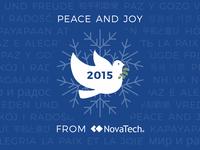 NovaTech Holiday Card