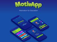 MotivApp UX/UI Design