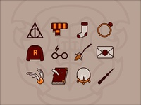 Harry Potter icons