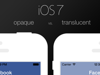 iOS 7 Opaque vs. Tranlucency