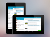 mysms android tablet app