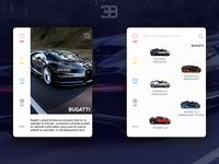 Prototype Bugatti App
