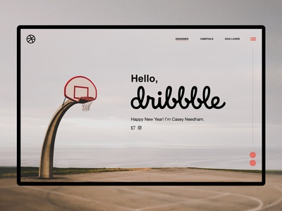 Hello, Dribbble