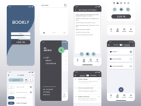 Bookly for Writers Concept - Mobile App UI