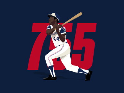 755 vector illustration design mlb baseball