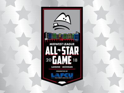 2018 Midwest League All-Star Game logo