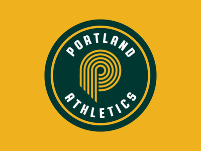 Oakland A's X Portland Trail Blazers