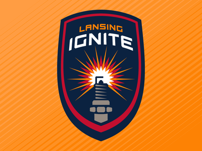 Lansing Ignite soccer brand and identity