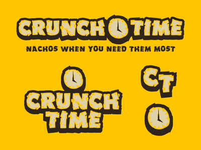 CRUNCH TIME - QUESO