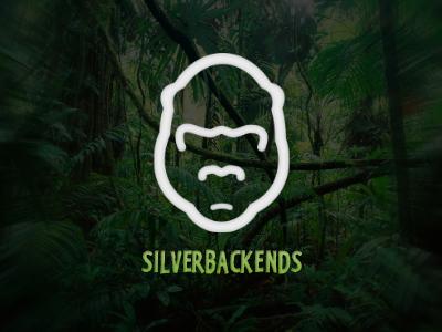 Silverbackends logo logo design animal