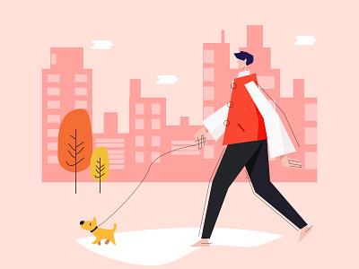 stroll design vector illustration