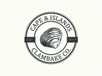 Cape & Islands Clambake Co. Round Logo