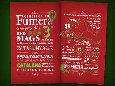 Christmas Card Fumera