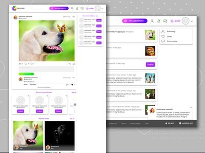 """Website for """"SELFLLERY"""" Feed&Events part2"""