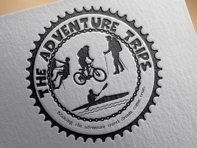 Logo design for the adventure trips