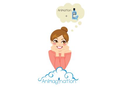 Logo for Animagination