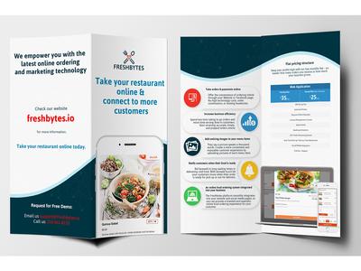 Brochure Design for freshbytes.io
