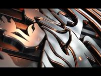 Metal 3D Logo